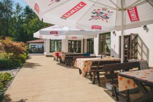 zdjęcie ogródka restauracji zodiak s7